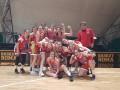 """La Virtus Basket Aprilia porta a casa la vittoria """"sul fil di sirena""""."""