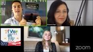 Lo scrittore apriliano Simone Marchetti intervistato negli USA.