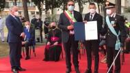 Onoreficenze al merito della Repubblica: a Latina presente anche il Sindaco Terra.