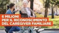 Regione Lazio, Sociale: 6 milioni di Euro per il riconoscimento del caregiver familiare.