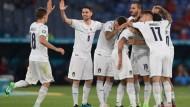 Euro2020, buona la prima per l'Italia: 3-0 alla Turchia.