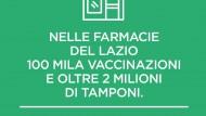 Vaccino in farmacia, nel Lazio raggiunta quota 100mila somministrazioni.