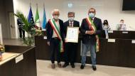 Prof. Fabio Ricci cittadino onorario di Aprilia: le parole del Sindaco.