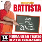 Battista al Gran Teatro di Roma