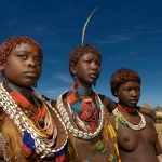 Le donne Hamer in Etiopia