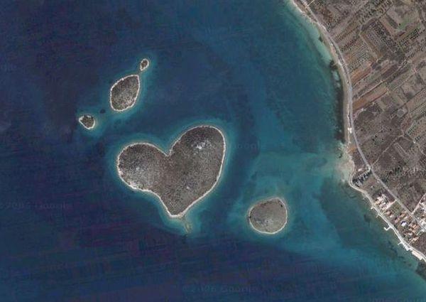Isola a forma di cuore  News di Aprilia in tempo reale