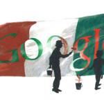 """La scuola media Gramsci ha vinto il primo premio: """"Un doodle per Google: l'Italia fra 150 anni"""""""