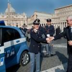 CITROËN C-ZERO in servizio in Piazza San Pietro