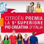 Citroën premia le quinte superiori più creative d'Italia