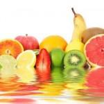 Arcobaleno di frutta