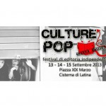 Culture Pop a Cisterna
