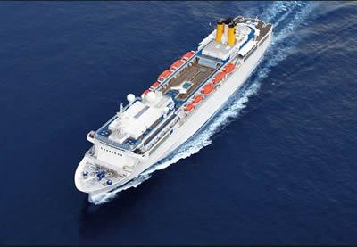 Costa crociere un viaggio in crociera all 39 italiana news for Quali sono le migliori cabine su una nave da crociera