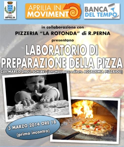 VOLANTINO LABORATORIO PIZZA