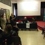 Ennio Borgia incontra i ragazzi dell'Istituto Gramsci