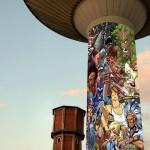Street Art sull'acquedotto di via Galilei: sogno o realtà?