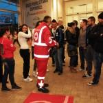 Incontro con la Croce Rossa ad Aprilia
