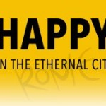 """Borned """"Happy in the Eternal City"""""""