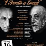 """Al Teatro Europa """"Il berretto a sonagli"""""""