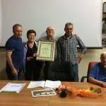 Comitato Aprilia Nord: Premiazione dei Consiglieri Onorari