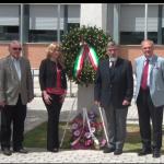 Il dirigente del Rosselli Galassi Elisa Bonacini Il Generale Massimo Coltrinari e il Generale Luigi Marsibilio
