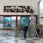 Un quadro di Paolo Boccardi alla Menotti Garibaldi