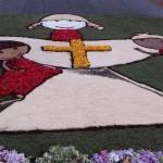 Festa del Sacro Cuore a Campoverde: ieri l'infiorata
