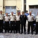 Gendarmeria Turca in visita al Comando Provinciale dei Carabinieri di Latina