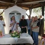 Inaugurate le nuove statue di San Antonio e Sant'Anna