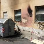 Fiamme in via Milano: danneggiata la sede della Caritas