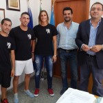 L'Amministrazione incontra i campioni del kick boxing