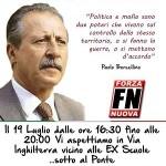 In ricordo di Paolo Borsellino