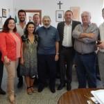 Don Antonio in visita al Comune di Aprilia