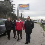Operai in agitazione alla ex Montebovi