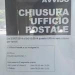 Chiuso per lavori l'Ufficio postale di Via Lussemburgo fino ad ottobre