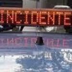 Via Selciatella, incidente al distributore