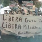 "Anpi ""Vittorio Arrigoni"", manifestazione Pro Gaza."