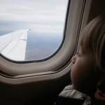 Viaggiare in aereo con un bambino piccolo, si puo!