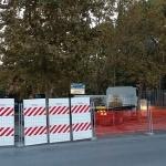 Ripresa dei lavori al Parco dei Mille