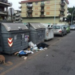 Getta rifiuti in strada: cittadino colto in flagrante