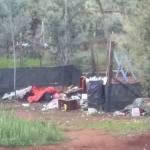 Sgombero a via Deledda: soccorsi i due senzatetto.