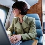 Smartphone e tablet connessi in aereo