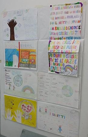 Alcuni dei disegni, Scuola Pascoli
