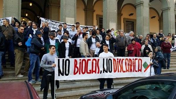 No Biogas - No Discarica