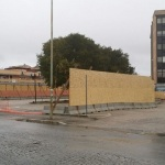 Apertura del cantiere in Piazza dei Bersaglieri