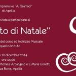 Concerto di Natale: istituto Gramsci, importante realtà locale