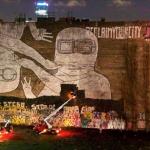 Berlino, rimossi i murales di Blu