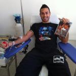 Anche i Campioni donano il sangue all'Avis di Aprilia