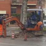 Partiti i lavori su via Mascagni