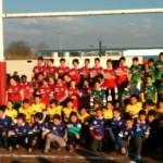 Tutti i ragazzi partecipanti Torneo Rugby