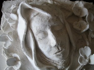 1- Francesco Guadagnuolo - Santa Teresa d'Avila, opera scultorea. -